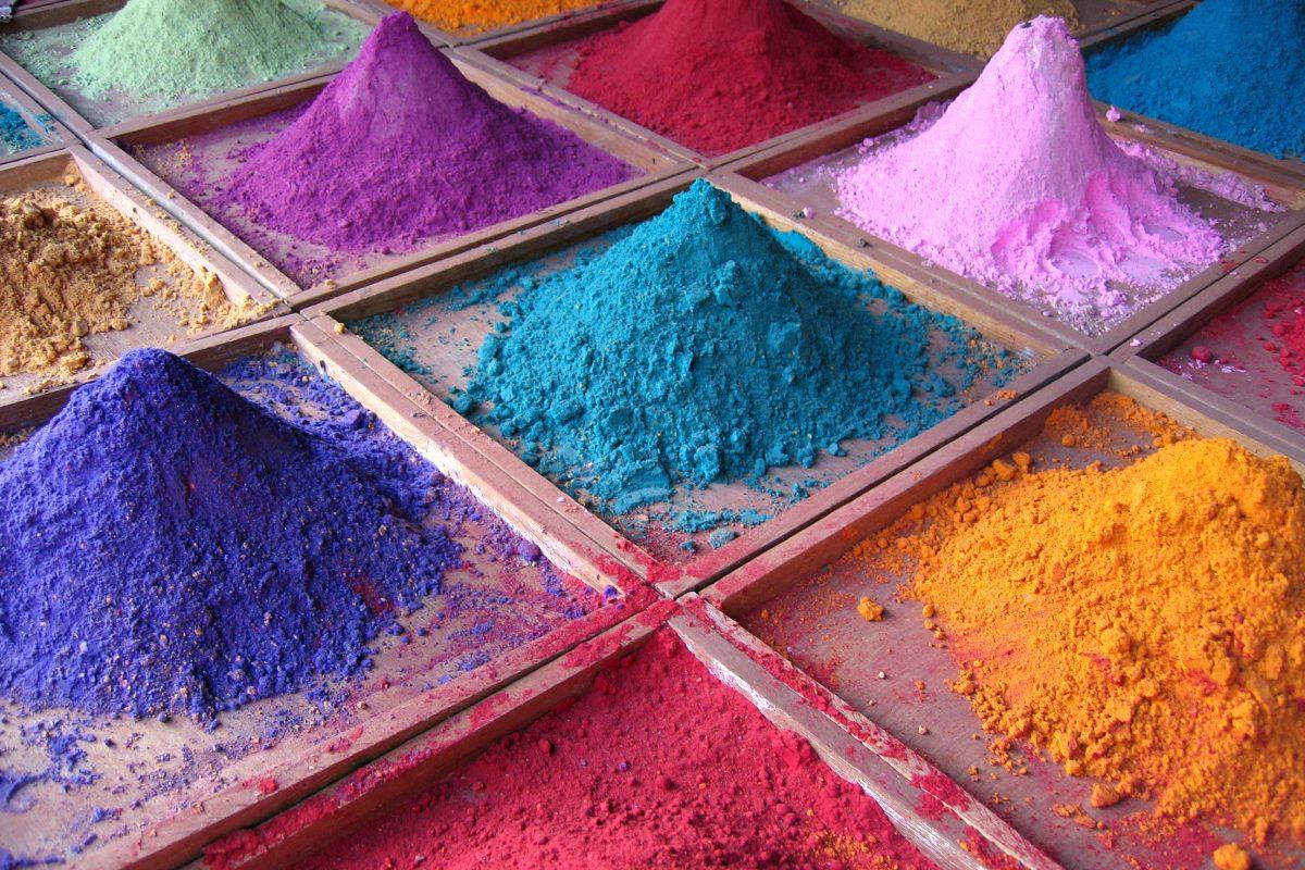 pigmenty naturalne